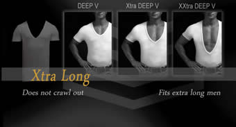 Extra long t shirts for men
